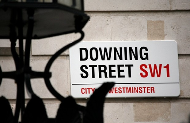 Downing Street Sign